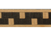 375-026 Maple, Black Greek Key