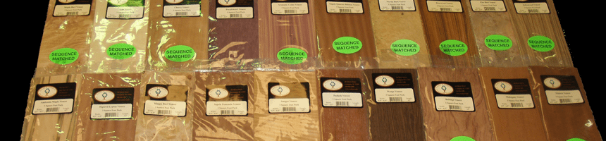 Wood Veneer Packages